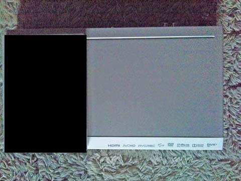 Pioneer(パイオニア)のブルーレイディスクプレーヤーBDP-3110-WをDVDのトールケースと比較してみる