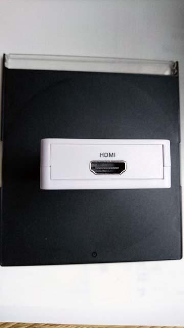上海問屋のHDMI音声分離器の入力側