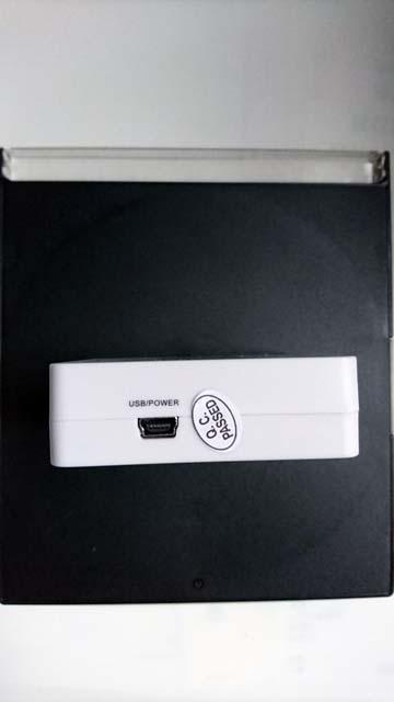 上海問屋のHDMI音声分離器の電源接続端子