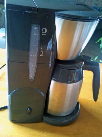 Melitta(メリタ) のコーヒーメーカー、アロマサーモ ステンレス ダークブラウン JCM-561